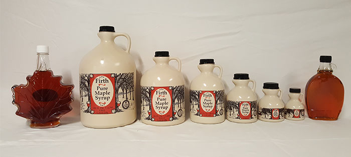 Firth Maple syrup products